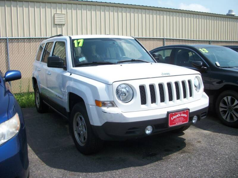 2017 Jeep Patriot for sale at Lloyds Auto Sales & SVC in Sanford ME