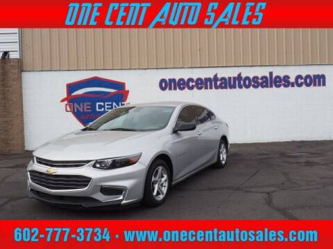 2017 Chevrolet Malibu for sale at One Cent Auto Sales in Glendale AZ
