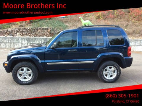 2002 Jeep Liberty for sale at Moore Brothers Inc in Portland CT