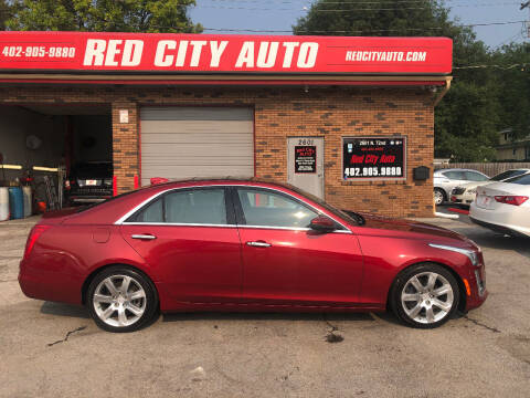2015 Cadillac CTS for sale at Red City  Auto in Omaha NE