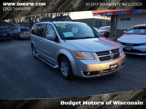 2010 Dodge Grand Caravan for sale at Budget Motors of Wisconsin in Racine WI