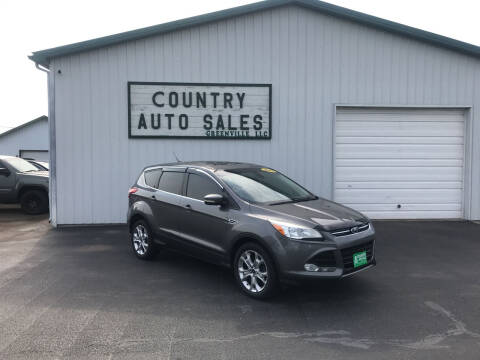 2013 Ford Escape for sale at COUNTRY AUTO SALES LLC in Greenville OH