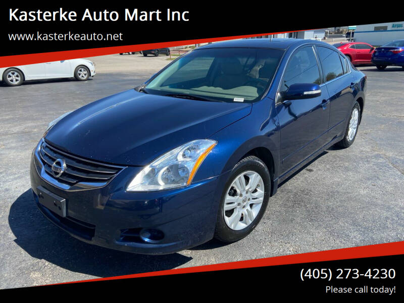 2012 Nissan Altima for sale at Kasterke Auto Mart Inc in Shawnee OK