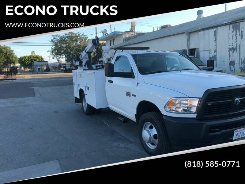 2012 RAM Ram Chassis 3500 for sale in Corona, CA