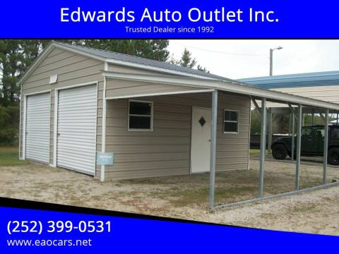 2021 Steel Buildings and Structures 22W x 21L x 10H building with for sale at Edwards Auto Outlet Inc. in Wilson NC