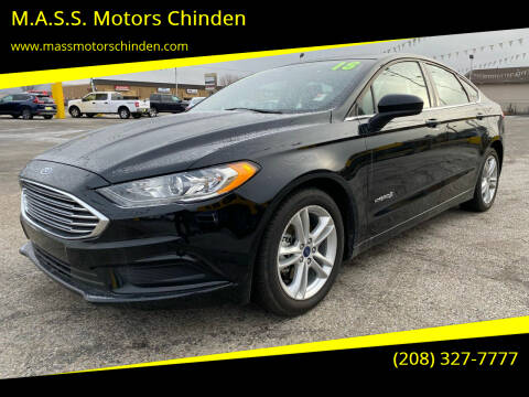 2018 Ford Fusion Hybrid for sale at M.A.S.S. Motors - West Fairview in Boise ID