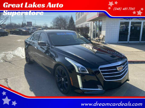 2015 Cadillac CTS for sale at Great Lakes Auto Superstore in Pontiac MI