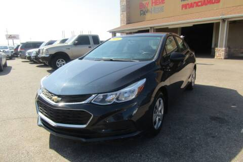 2016 Chevrolet Cruze for sale at Import Motors in Bethany OK