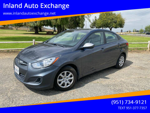 2013 Hyundai Accent for sale at Inland Auto Exchange in Norco CA