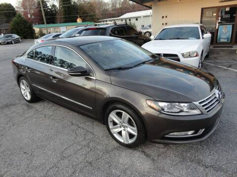 2013 Volkswagen CC for sale at HAPPY TRAILS AUTO SALES LLC in Taylors SC