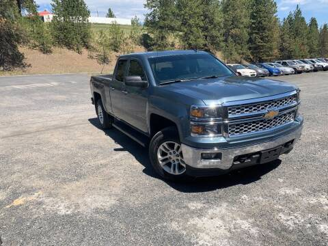2014 Chevrolet Silverado 1500 for sale at CARLSON'S USED CARS in Troy ID