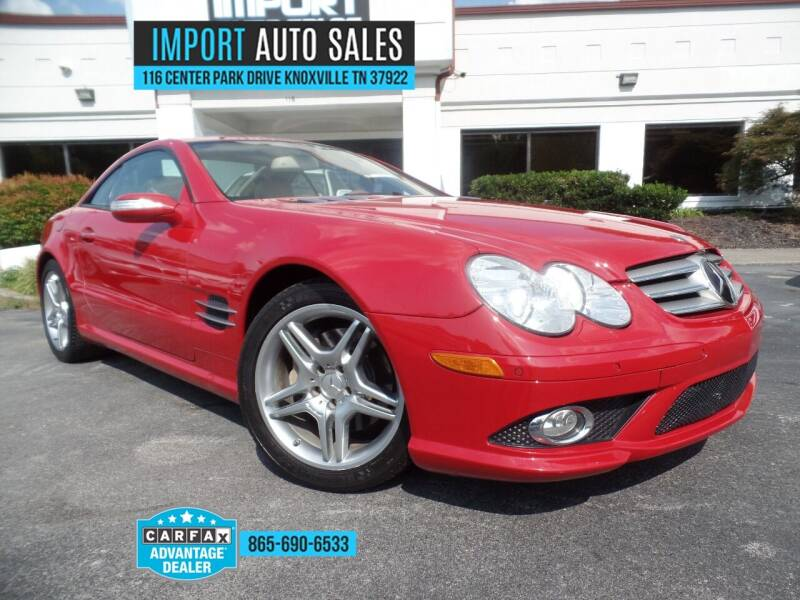 2007 Mercedes-Benz SL-Class for sale at IMPORT AUTO SALES in Knoxville TN