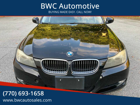 2009 BMW 3 Series for sale at BWC Automotive in Kennesaw GA