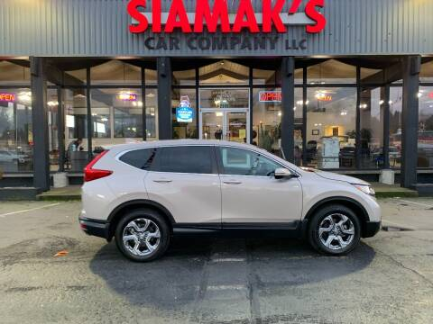 2018 Honda CR-V for sale at Siamak's Car Company llc in Salem OR