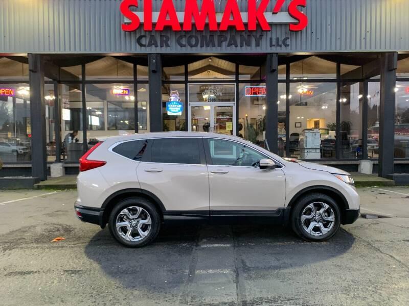 2018 Honda CR-V for sale at Siamak's Car Company llc in Salem OR