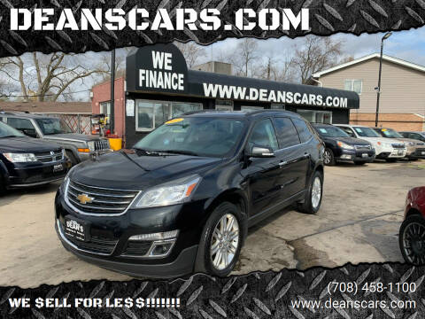2015 Chevrolet Traverse for sale at DEANSCARS.COM in Bridgeview IL