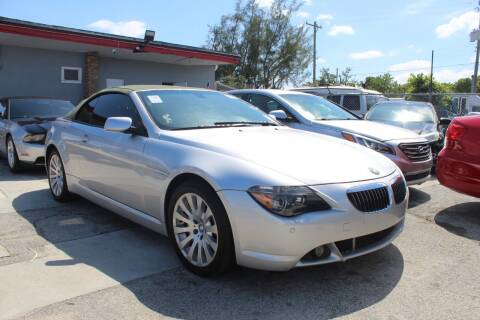 2005 BMW 6 Series for sale at Goval Auto Sales in Pompano Beach FL