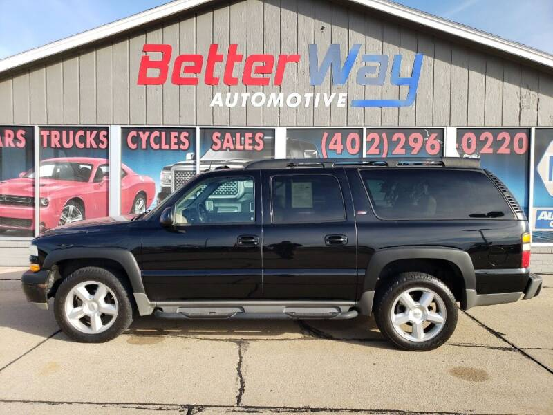 2005 Chevrolet Suburban for sale at Betterway Automotive Inc in Plattsmouth NE