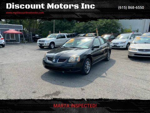 2004 Mitsubishi Galant for sale at Discount Motors Inc in Madison TN