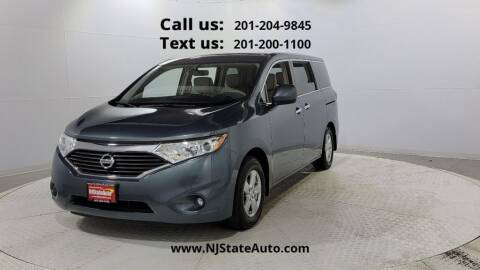 2013 Nissan Quest for sale at NJ State Auto Used Cars in Jersey City NJ