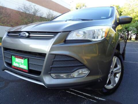 2013 Ford Escape for sale at Dasto Auto Sales in Manassas VA