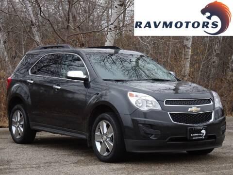 2014 Chevrolet Equinox for sale at RAVMOTORS in Burnsville MN