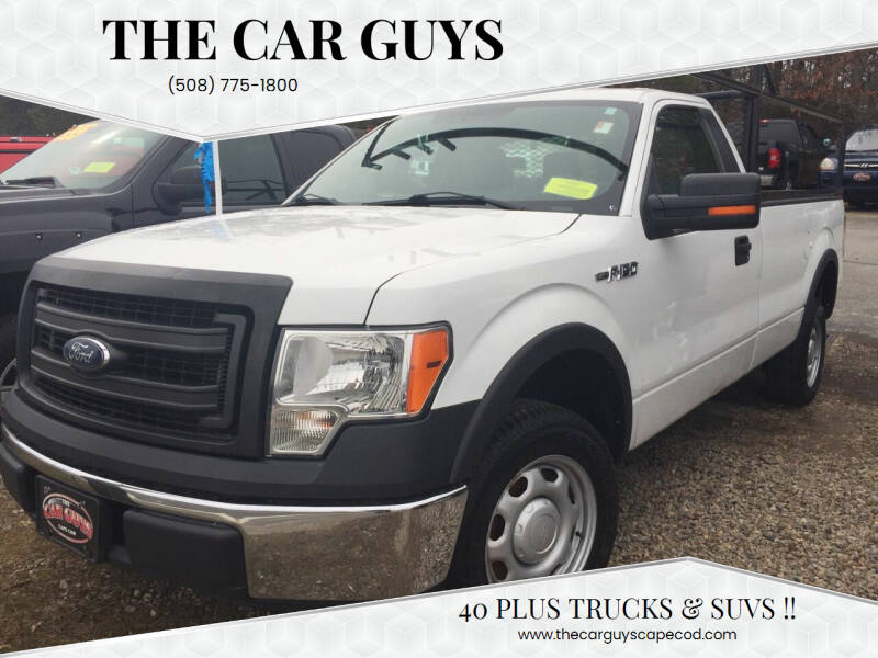 2013 Ford F-150 for sale at The Car Guys in Hyannis MA