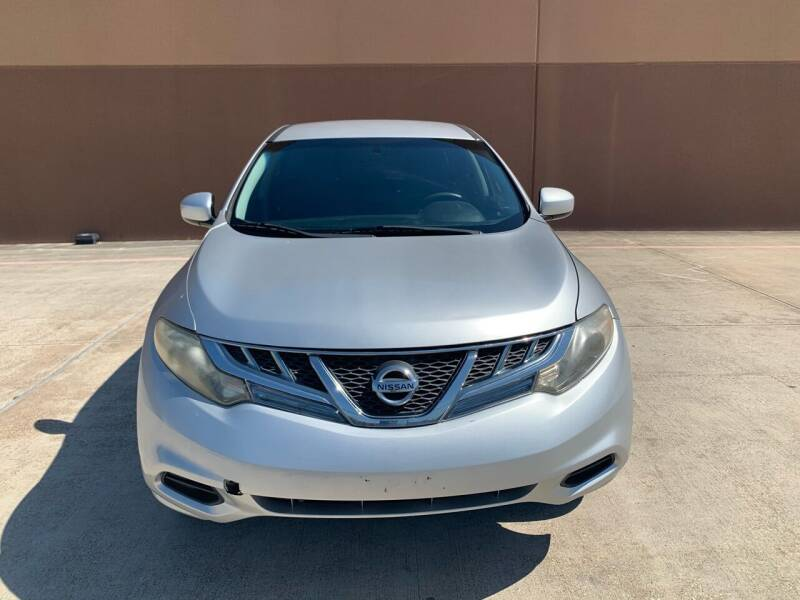 2011 Nissan Murano for sale at ALL STAR MOTORS INC in Houston TX