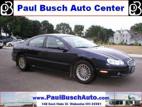 2003 Chrysler Concorde for sale at Paul Busch Auto Center Inc in Wabasha MN