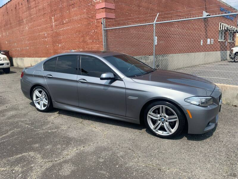 2014 BMW 5 Series for sale at LINDER'S AUTO SALES in Gastonia NC