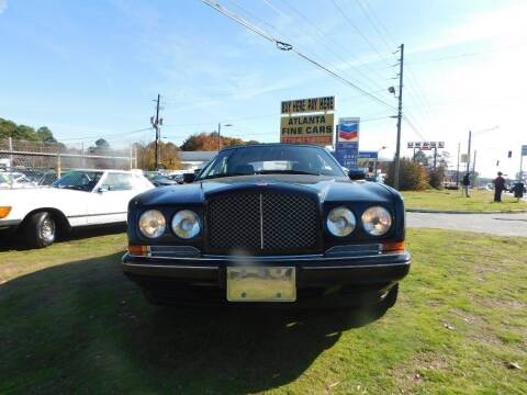 1996 Bentley Azure for sale at Atlanta Fine Cars in Jonesboro GA