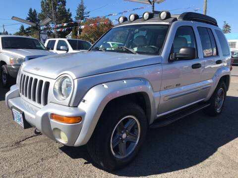 2003 Jeep Liberty for sale at Stag Motors in Portland OR