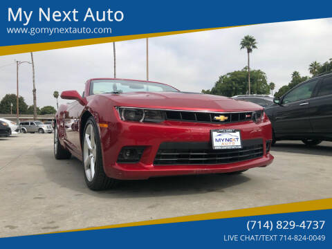2015 Chevrolet Camaro for sale at My Next Auto in Anaheim CA