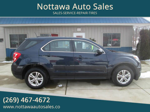 2017 Chevrolet Equinox for sale at Nottawa Auto Sales in Nottawa MI