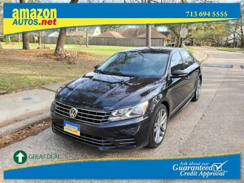 2017 Volkswagen Passat for sale at Amazon Autos in Houston TX
