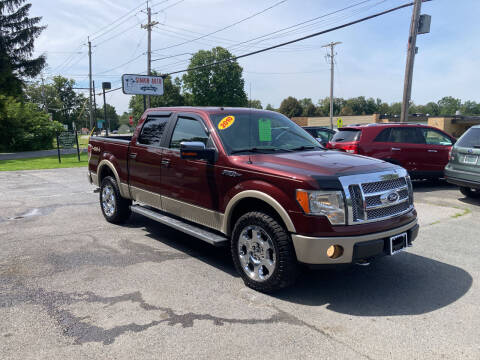 2010 Ford F-150 for sale at JERRY SIMON AUTO SALES in Cambridge NY