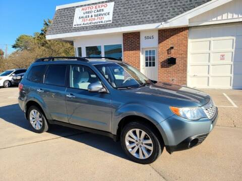2012 Subaru Forester for sale at Auto Expo in Norfolk VA