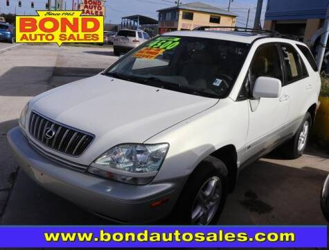 2002 Lexus RX 300 for sale at Bond Auto Sales in St Petersburg FL
