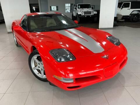 2004 Chevrolet Corvette for sale at Auto Mall of Springfield in Springfield IL