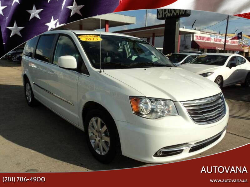 2015 Chrysler Town and Country for sale at AutoVana in Humble TX
