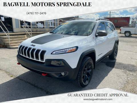2016 Jeep Cherokee for sale at Bagwell Motors Springdale in Springdale AR