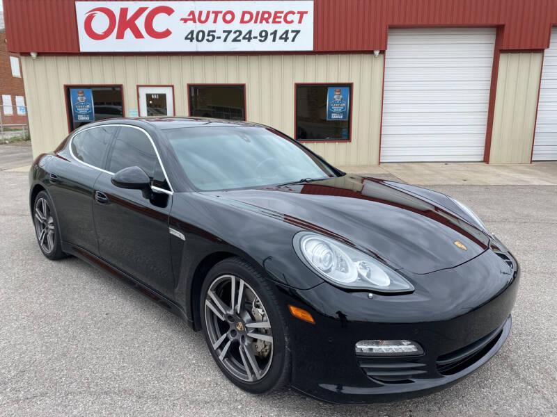 2013 Porsche Panamera for sale at OKC Auto Direct in Oklahoma City OK