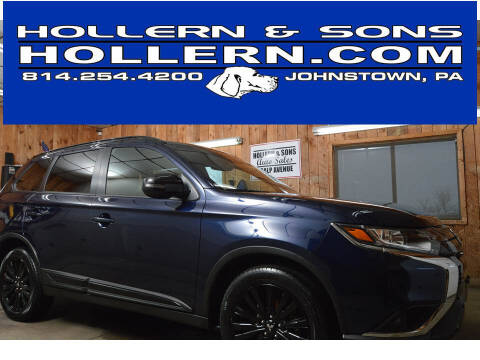 2020 Mitsubishi Outlander for sale at Hollern & Sons Auto Sales in Johnstown PA