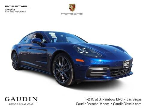 2020 Porsche Panamera for sale at Gaudin Porsche in Las Vegas NV