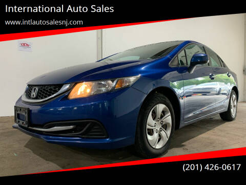 2013 Honda Civic for sale at International Auto Sales in Hasbrouck Heights NJ