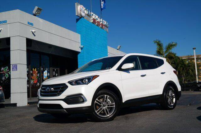 2018 Hyundai Santa Fe Sport for sale at Tech Auto Sales in Hialeah FL