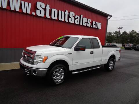 2013 Ford F-150 for sale at Stout Sales in Fairborn OH