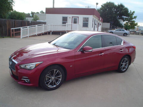 2015 Infiniti Q50 for sale at World of Wheels Autoplex in Hays KS