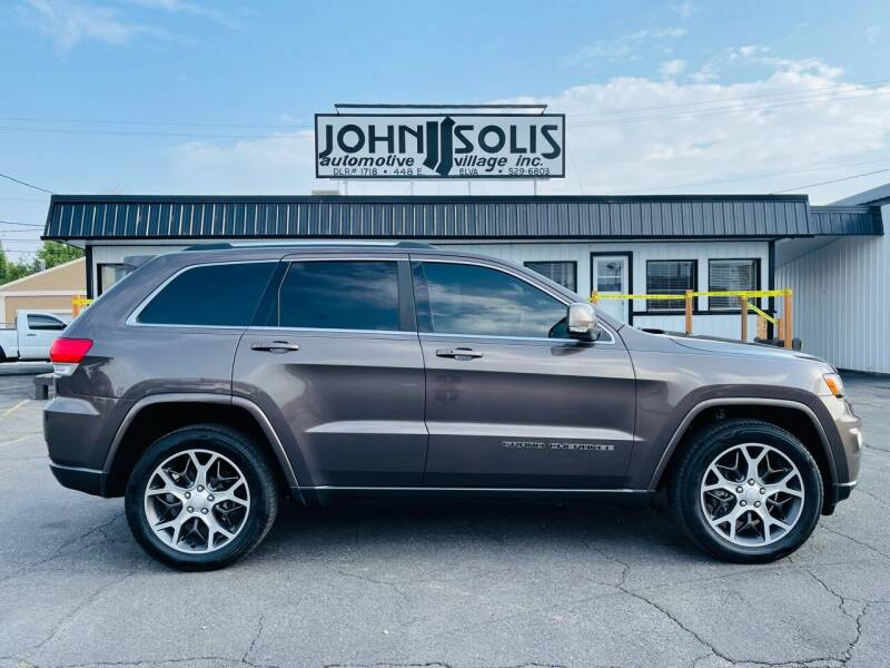 2018 Jeep Grand Cherokee for sale at John Solis Automotive Village in Idaho Falls ID