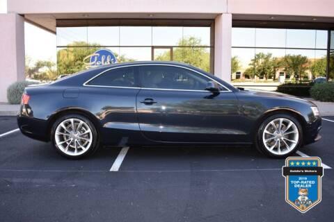 2013 Audi A5 for sale at GOLDIES MOTORS in Phoenix AZ